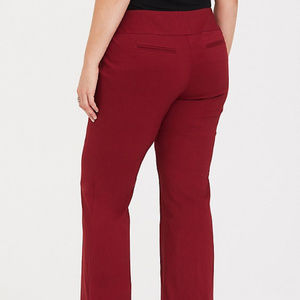 torrid Pants - TORRID SIZE 18 RED RELAXED TROUSER PANTS